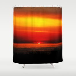 Distant Ships Shower Curtain