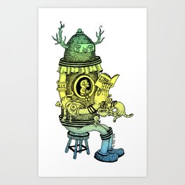Read a Zine Art Print