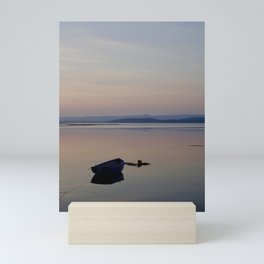The Blue Boat Mini Art Print