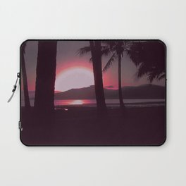 Cairns Sunrise in Red Laptop Sleeve