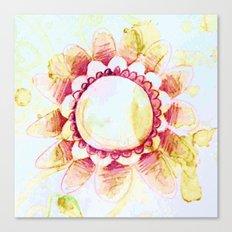 tea flower Canvas Print