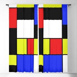 Mondrian #20 Blackout Curtain