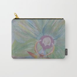 Tipsy Orchid Carry-All Pouch