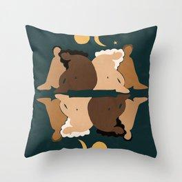Sisters II Throw Pillow