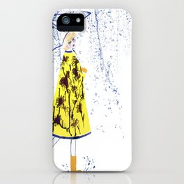 Singin' in the rain iPhone Case