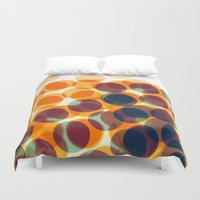 dots Duvet Covers featuring Dots by Yordanka Poleganova