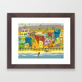La Perla Framed Art Print