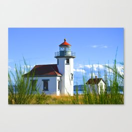 Lighthouse - Point Robinson - Vashon Island, WA Canvas Print