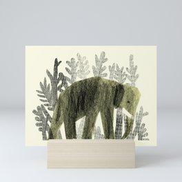 Camouflage Mini Art Print