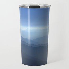 Blue dreams II. Misty mountains Travel Mug