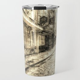 The Shambles York Vintage Travel Mug