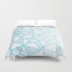 Abstraction Lines Watercolour Duvet Cover