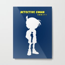 Detective Conan名探偵コナン Metal Print