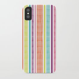 Textured Stripes iPhone Case