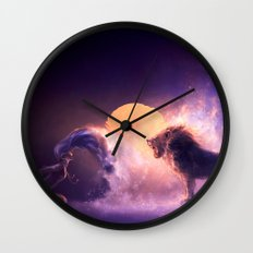 LEO from the Dancing Zodiac Wall Clock