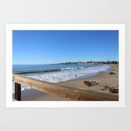 Santa Barbara Beach  Art Print