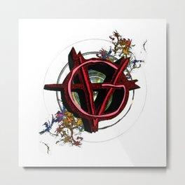 Vagenda Logo - Full Color VERSION ONE Metal Print