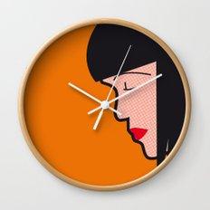 Pop Icon - Mia Wall Clock