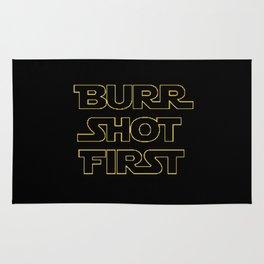 Burr Shot First Rug