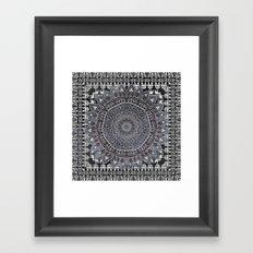 MANDALIKA MOON Framed Art Print
