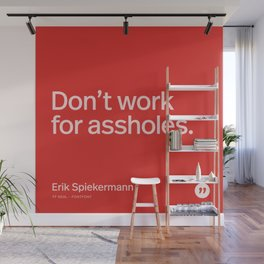 Typethos: Erik Spiekermann Wall Mural