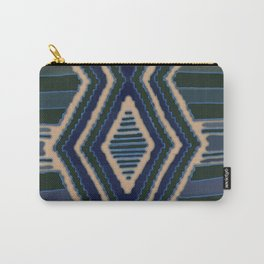Earth Diamonds Blue Carry-All Pouch