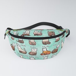 Coffee Cats Fanny Pack