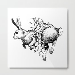 Roadkill Metal Print