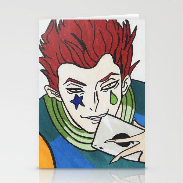 Hisoka Morow Hunter X Stationery Cards