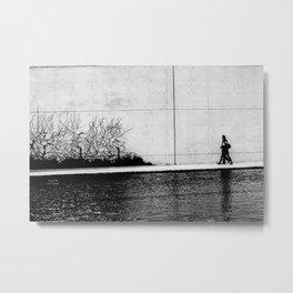 b.w Metal Print
