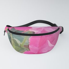 Iced Blossoms Fanny Pack