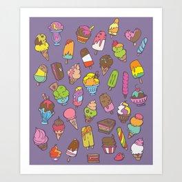 Summer Treats Art Print
