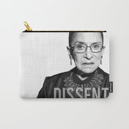 Ruth Bader Ginsburg DISSENT Collar RBG Carry-All Pouch