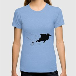 Animal shadow T-shirt