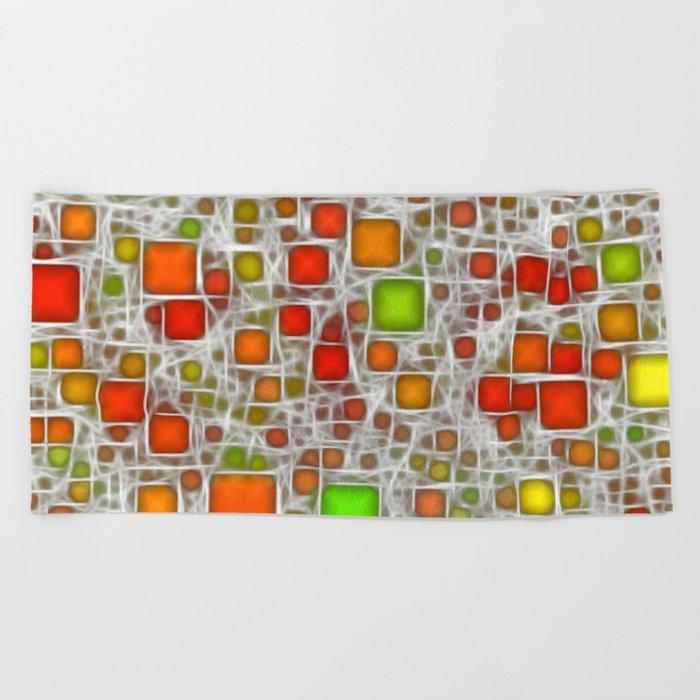 Ceramics Citrus Beach Towel