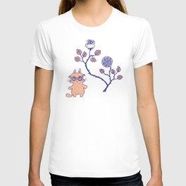 Philosophical cat T-shirt