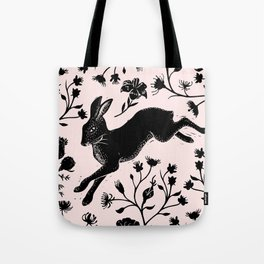 Hare & Vines Tote Bag