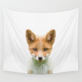 Baby Fox Wall Tapestry