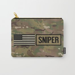 Military: Sniper (Camo) Carry-All Pouch