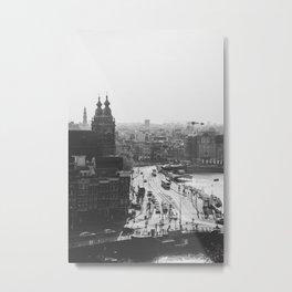 Amsterdam Transit Metal Print