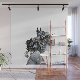 Ornate beast Wall Mural