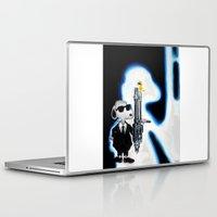 snoopy Laptop & iPad Skins featuring MIB Snoopy by Karmaela.com