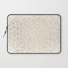 Gold Mandala Laptop Sleeve
