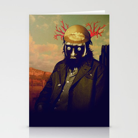 king of the desert Stationery Cards