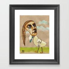 The Duck Framed Art Print