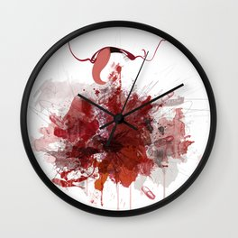 Enjambre Wall Clock
