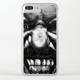 Graffiti 2 Clear iPhone Case