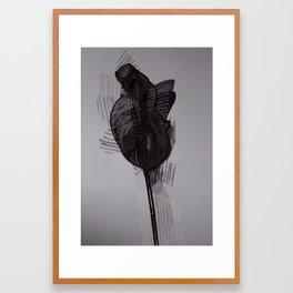 leaf seven Framed Art Print