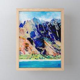 Na Pali Coast Framed Mini Art Print