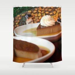 Lucuma Shower Curtain
